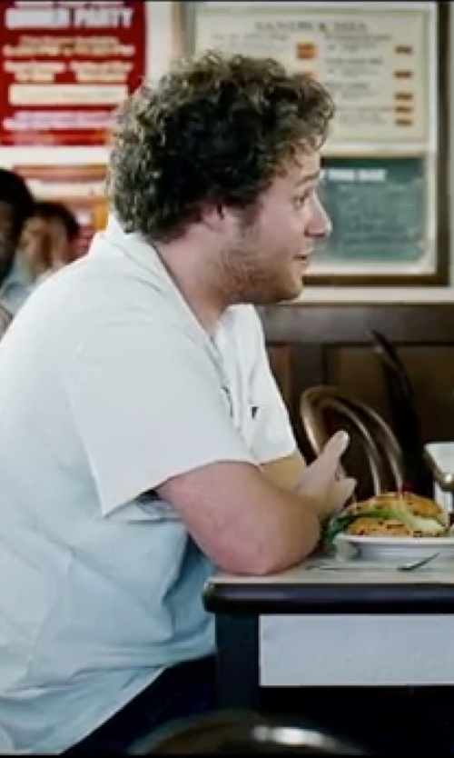 Seth Rogen with Diesel Men's T-Alex Shirt in Knocked Up