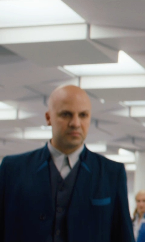 Carlo Poggioli (Costume Designer) Custom Made Male 'Erudite' Shirt in Divergent