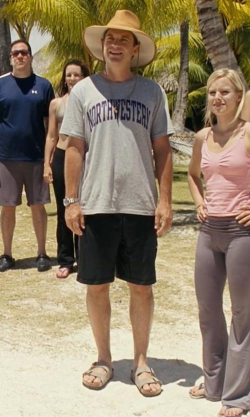Jason Bateman with Birkenstock Men's Soft Footbed Arizona Sandals in Couple's Retreat