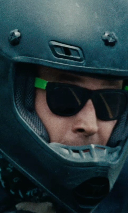 Ryan Gosling with Ray-Ban New Wayfarer Classic Sunglasses in The Place Beyond The Pines