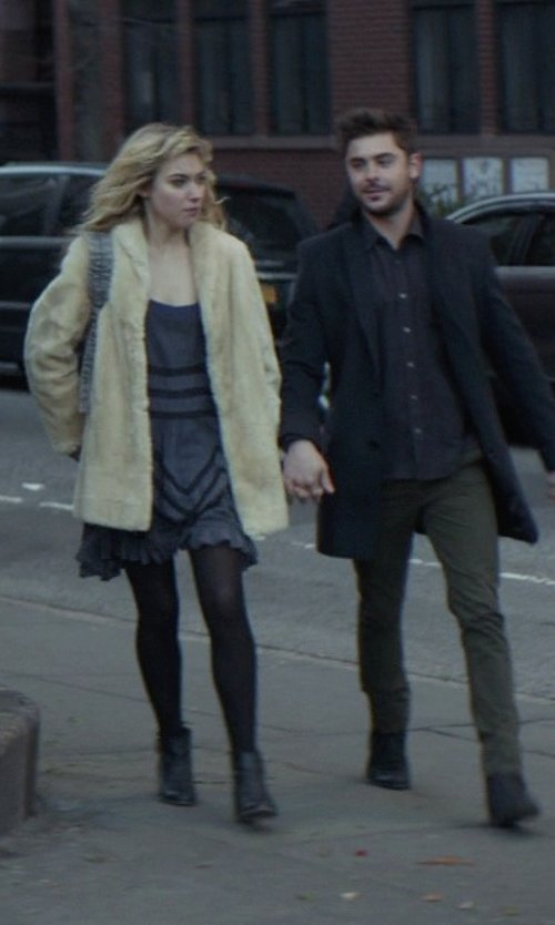 Imogen Poots with 3.1 Phillip Lim Alexa Double-Zip Ankle Boots in That Awkward Moment