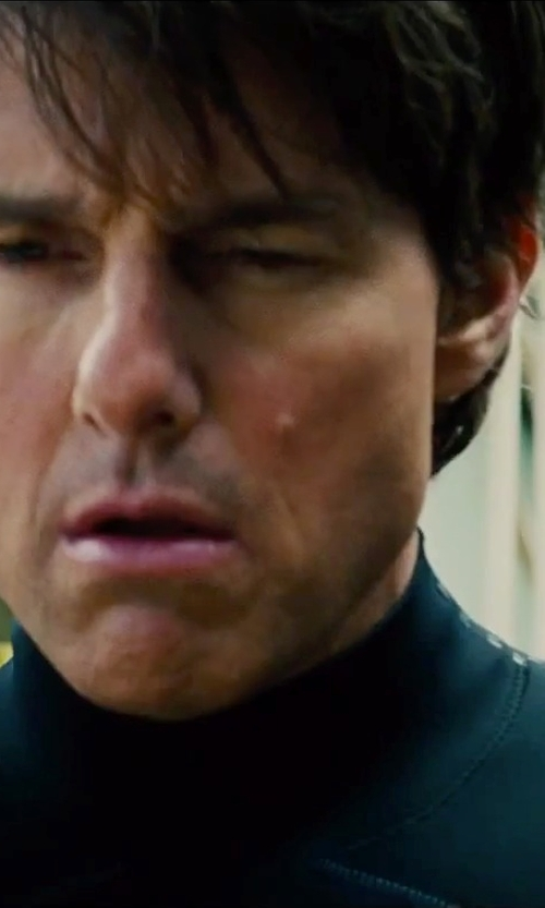 Tom Cruise with TYR Hurricane Wetsuit in Mission: Impossible - Rogue Nation
