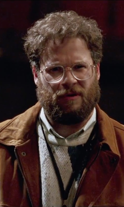 Seth Rogen with Carhartt Flame Resistant Jacket in Steve Jobs