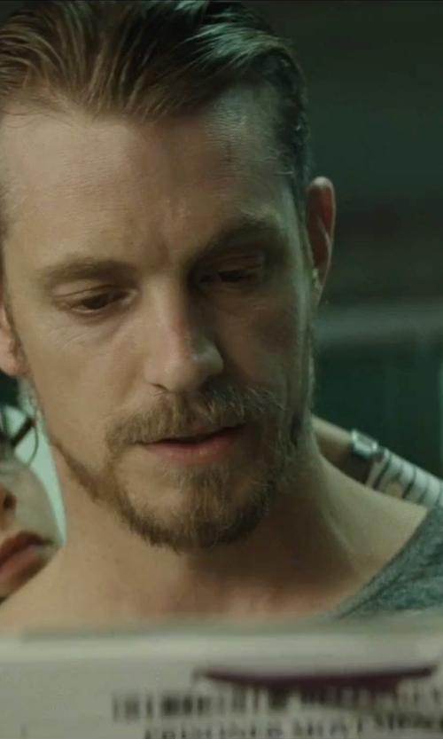 Joel Kinnaman with Wings + Horns Short Sleeve T-Shirt in Suicide Squad