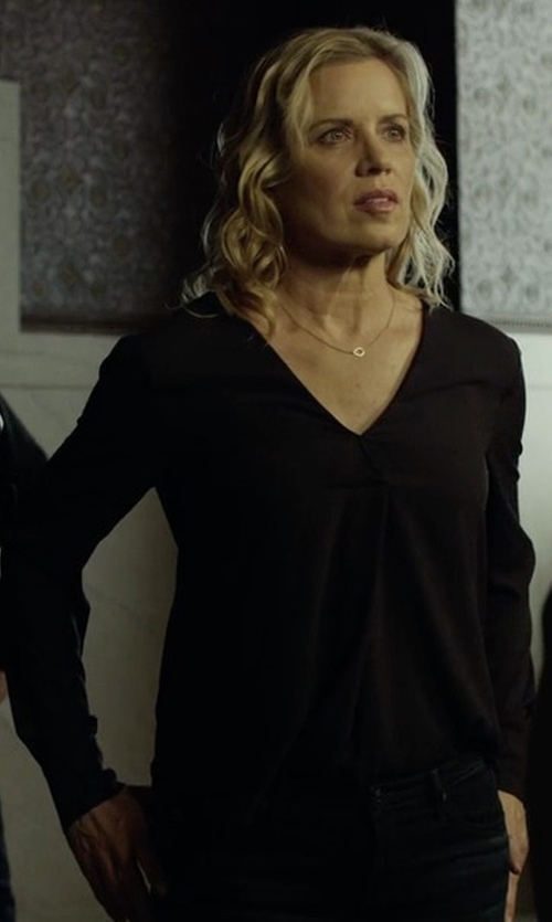 Kim Dickens with A.L.C. Loren Top in House of Cards