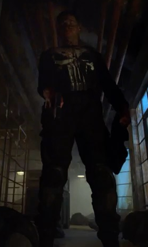 Jon Bernthal with Paige Craft Cargo Pants in Marvel's The Punisher
