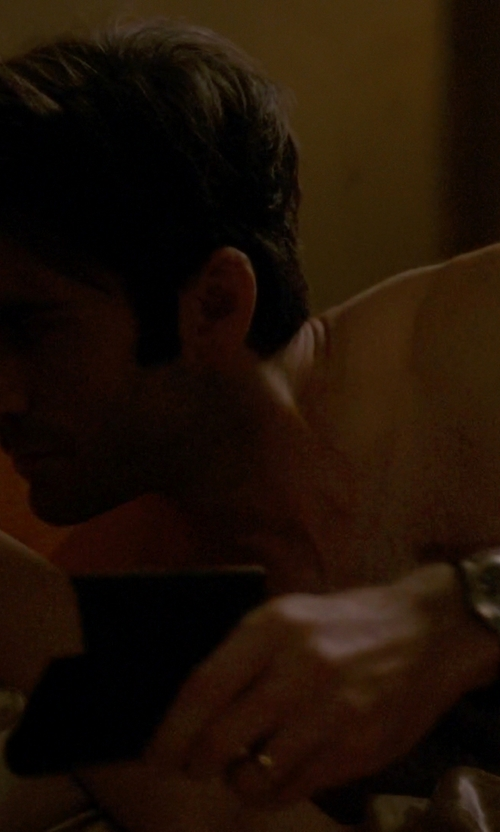 Wes Bentley with Hugo Boss Ambassador Watch in American Horror Story