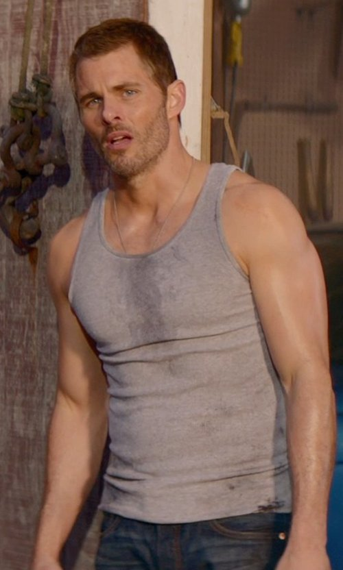 James Marsden with ATM Anthony Thomas Melillo Modal Tank Top in The Best of Me