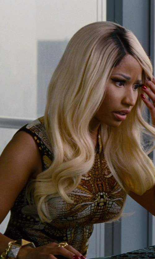 Nicki Minaj with Aurélie Bidermann Gold Miki Ring in The Other Woman