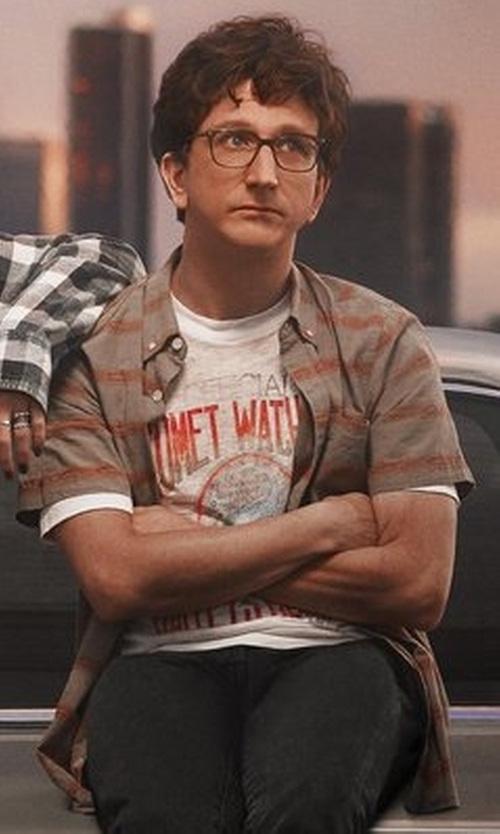 Paul Rust with O'Neill  Fifty-Two Short Sleeve Shirt in Love