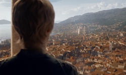 Unknown Actor with Dubrovnik (Depicted as King's Landing) Dubrovnik, Croatia in Game of Thrones