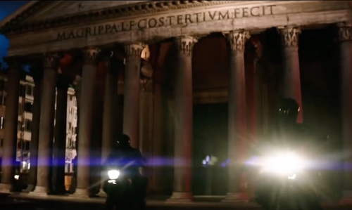 Unknown Actor with Pantheon Rome, Italy in Zoolander 2