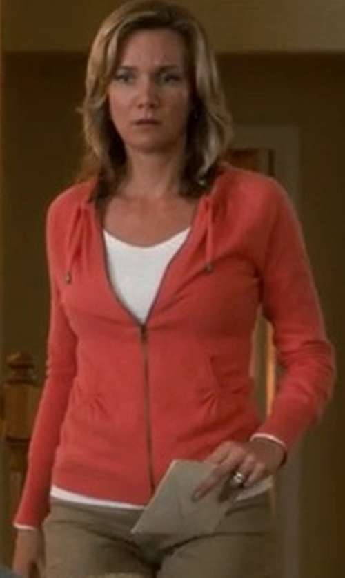 Beth Littleford with Cloud Layer Pro Full-Zip Fleece Jacket in Crazy, Stupid, Love.
