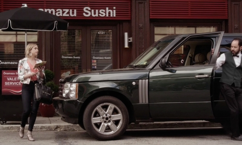 Ashley Benson with Land Rover Range Rover SUV in Pretty Little Liars