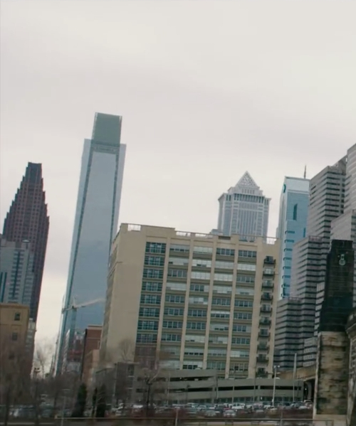 Unknown Actor with Comcast Center Philadelphia, Pennsylvania in Creed
