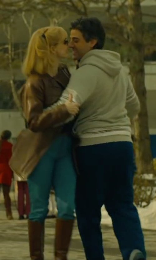 Oscar Isaac with Barneys New York French Terry Sweatpants in A Most Violent Year