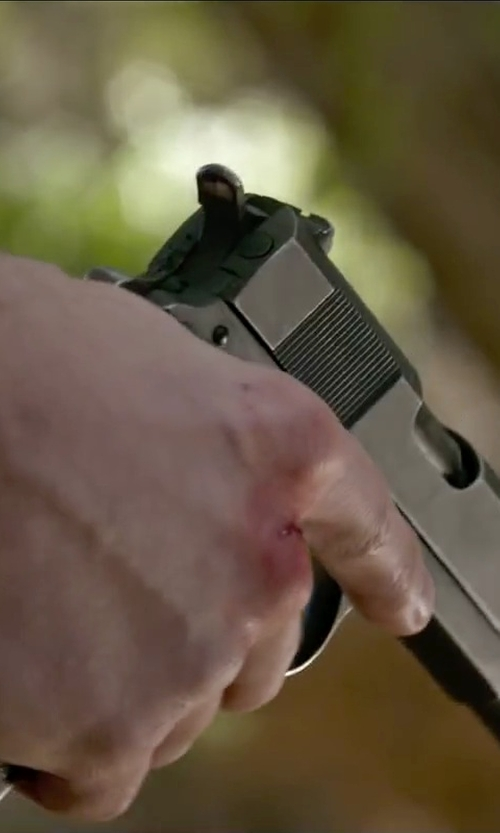 Ryan Guzman with Smith & Wesson Model 4506 Pistol in The Boy Next Door