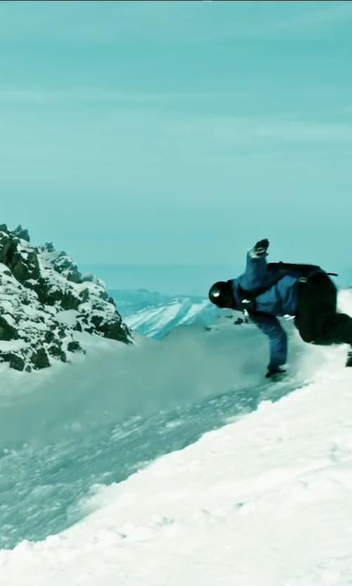 Luke Bracey with Arc'teryx Squamish Hoody Jacket in Point Break
