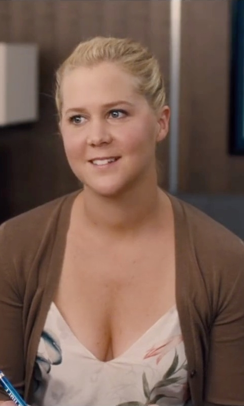 Amy Schumer with Michael Kors Michael Kors Cardigan in Trainwreck