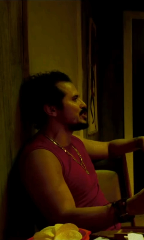 John Leguizamo with Forever 21 Raw-Cut Muscle Tee Shirt in The Infiltrator