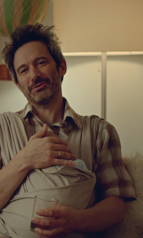 Adam Horovitz with Checkolite Bergen Light Table Lamp in While We're Young