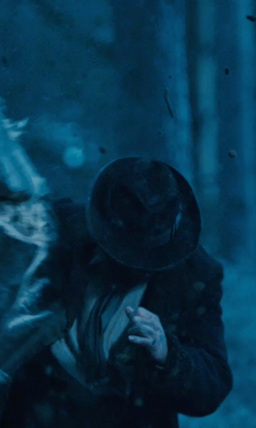 Vladimir 'Furdo' Furdik with John Varvatos Star USA Wool Felt Fedora Hat in Sherlock Holmes: A Game of Shadows