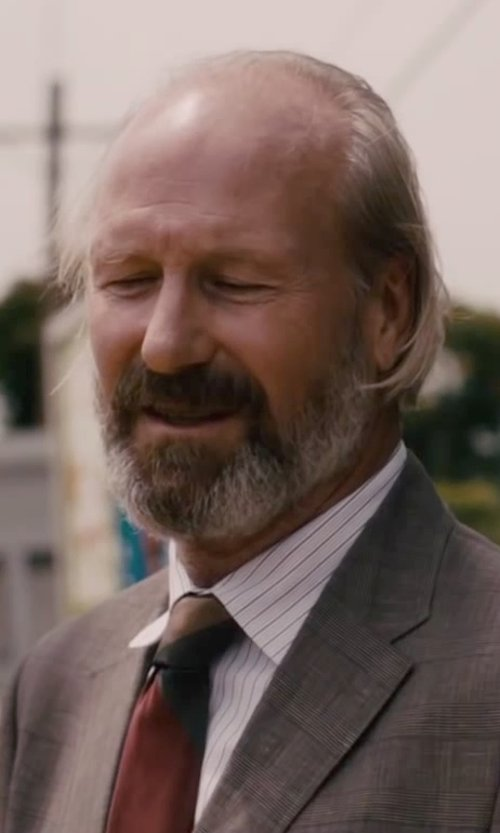 William Hurt with Alexander Olch Couple Stripe Necktie in The Disappearance of Eleanor Rigby
