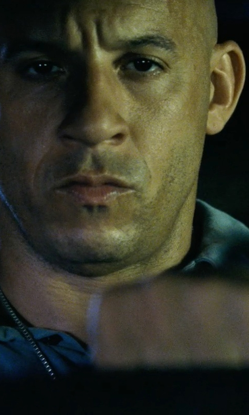 Vin Diesel with Sunspel Cotton Piqué Polo Shirt in Fast Five