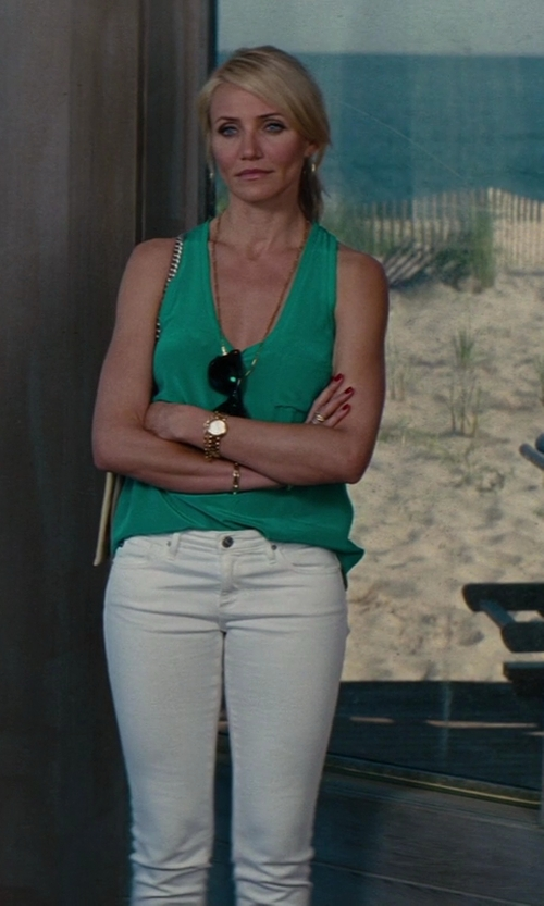 Cameron Diaz with Otte New York Signature Tank In Kelly Green in The Other Woman