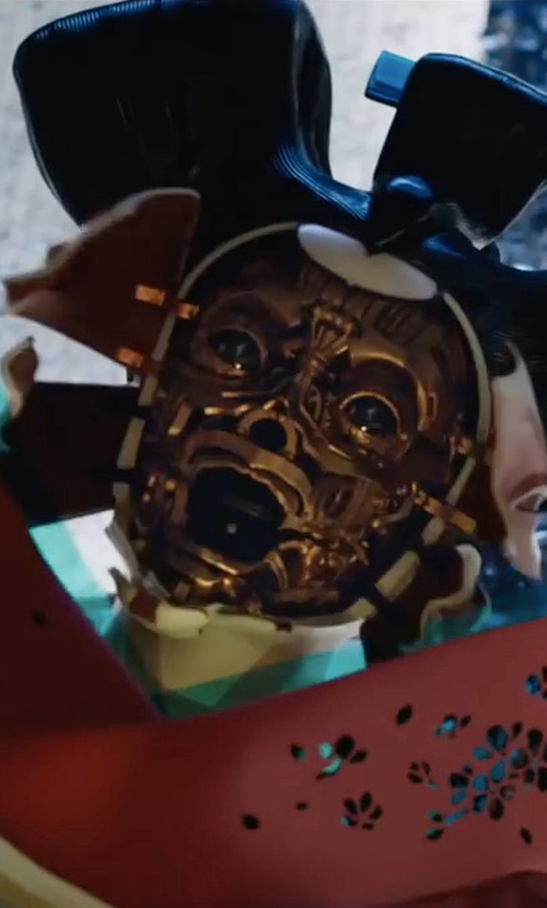 Unknown Actor with Kurt and Bart (Costume Designer) Customize Geisha Mask in Ghost in the Shell