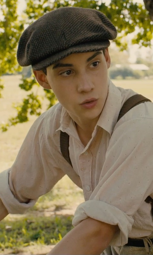 John D'Leo with E4hats Big Size Cotton Newsboy Hat in Unbroken