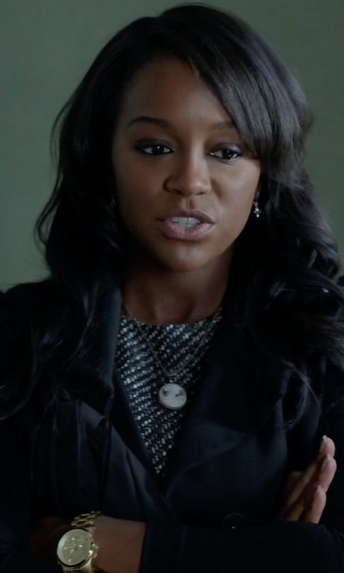 Aja Naomi King with Citizen Women's FB1352-52A Stainless Steel Watch in How To Get Away With Murder