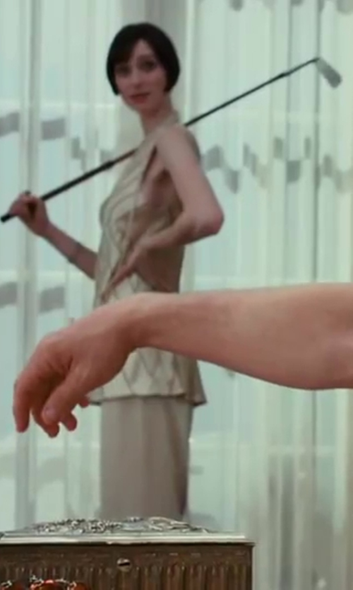 Elizabeth Debicki with Mallet A Trija Company Multi-head Golf Club Owned By Lady Astor in The Great Gatsby