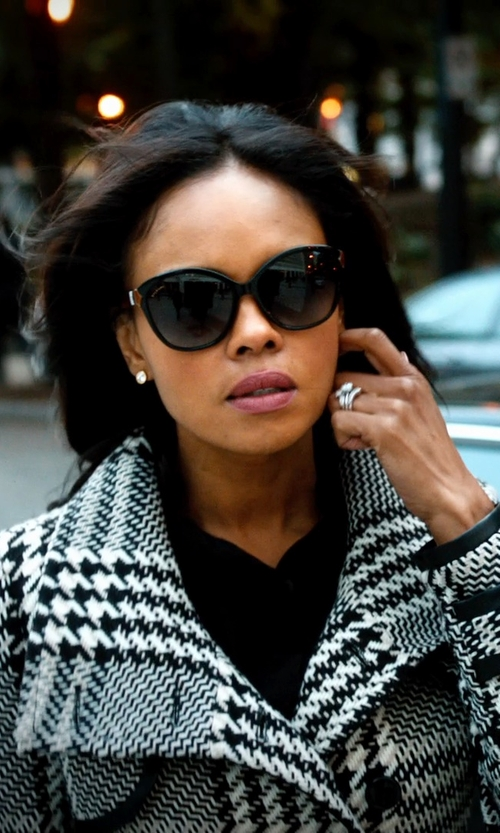 Sharon Leal with Versace Sunglasses, VE4251 in Addicted