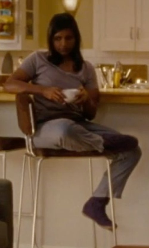 Mindy Kaling with BCBGMAXAZRIA Sweatpants in No Strings Attached