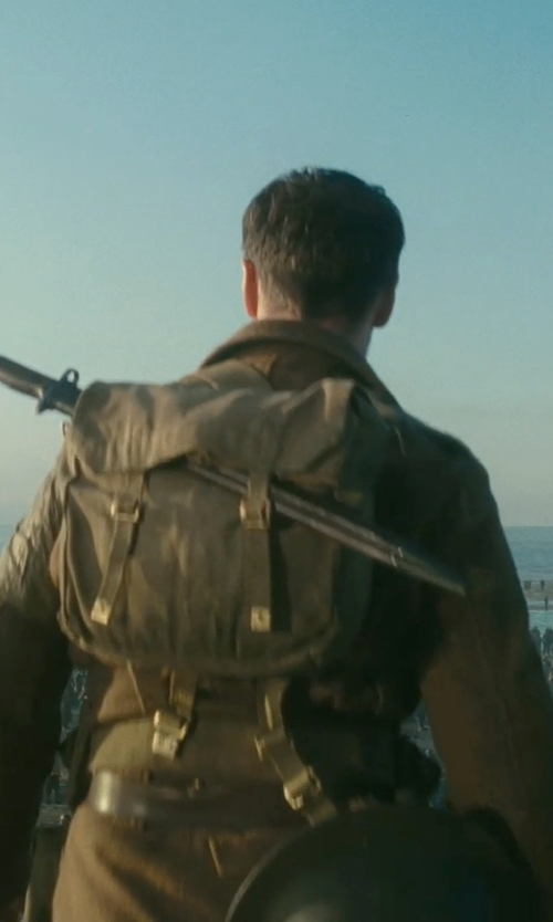 James McAvoy with LTC World War 2 Style Backpack in Atonement