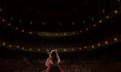 Chloë Grace Moretz with The Chan Centre for the Performing Arts Vancouver, Canada in If I Stay