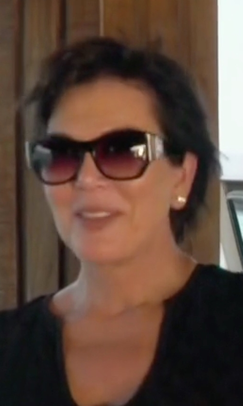 Kris Jenner with Prada PR 32PSP Sunglasses in Keeping Up With The Kardashians