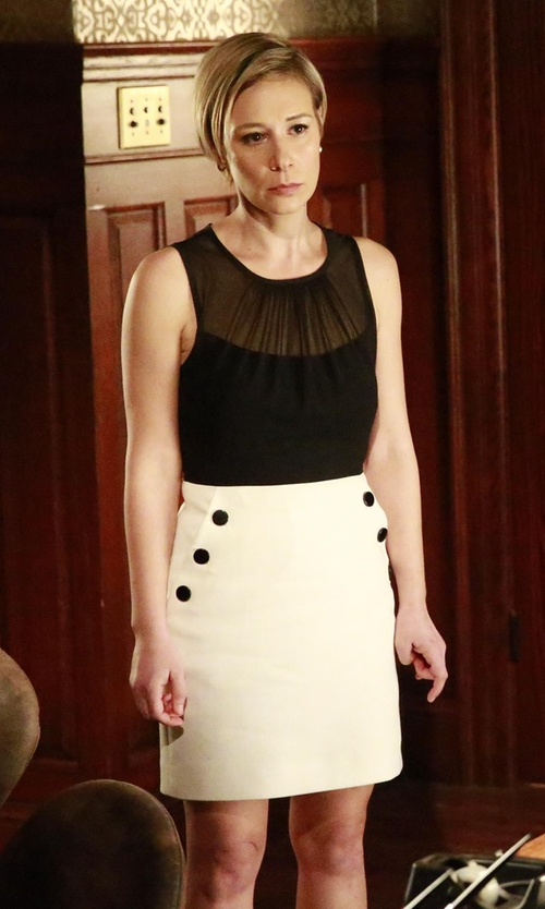 Liza Weil with Corey Wendy Lace Top    in How To Get Away With Murder