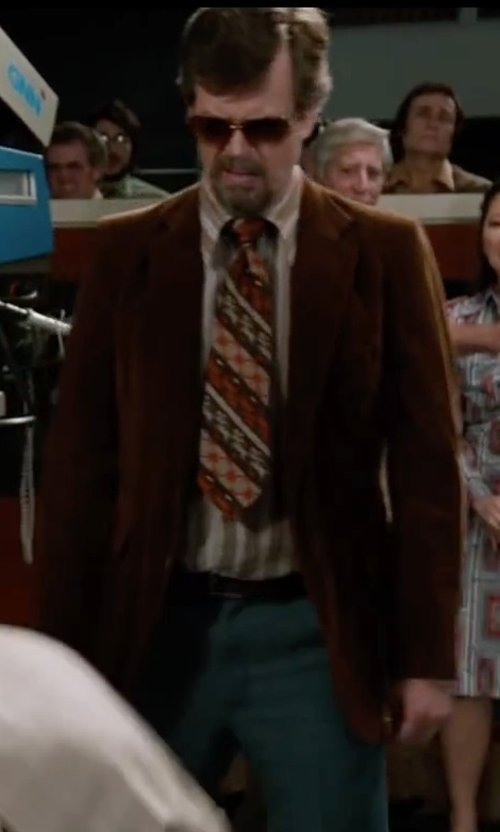 Dylan Baker with Incotex Morgan Slim Fit Pants in Anchorman 2: The Legend Continues