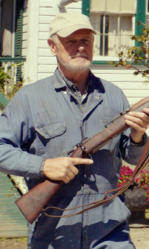 Gerald McRaney with Berne Men's Standard Unlined Coverall in The Best of Me