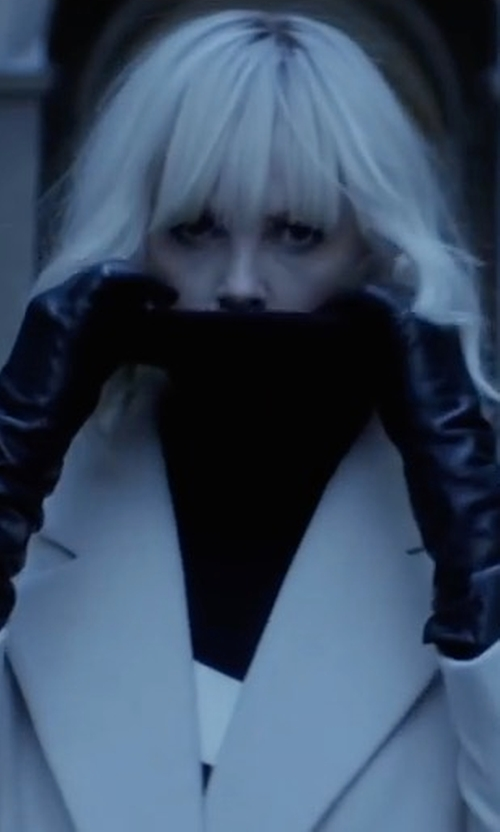 Charlize Theron with Soia & Kyo Joline Gloves in Atomic Blonde