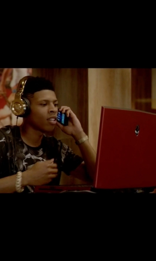 Bryshere Y. Gray with Alienware 17 R3 Laptop in Empire