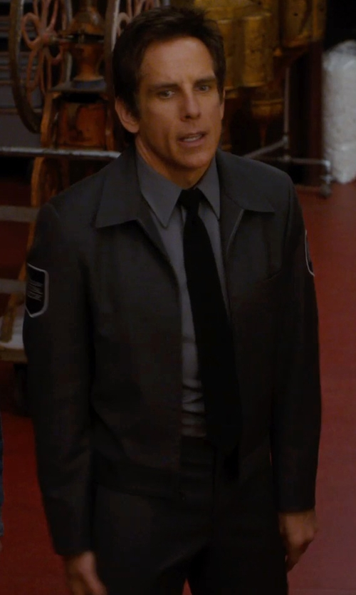Ben Stiller with Lauren Ralph Lauren Ascot Silk Tie in Night at the Museum: Secret of the Tomb