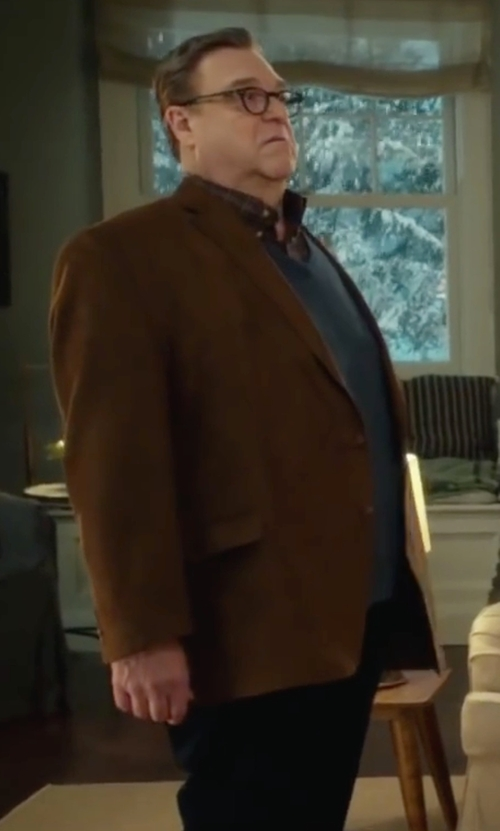 John Goodman with J. Crew Classic Fit Brocken-In Chino Pants in Love the Coopers