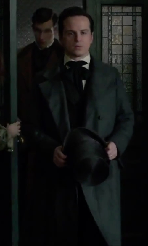 Andrew Scott with Ami Alexandre Mattiussi Double Breasted Coat in Victor Frankenstein