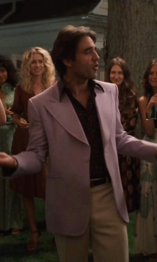 Bobby Cannavale with Manuel Ritz Single Breasted Blazer in Vinyl