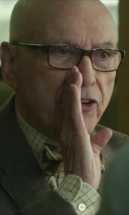 Alan Arkin with Ray-Ban Rx5245 Tortoise Eyeglasses in Love the Coopers