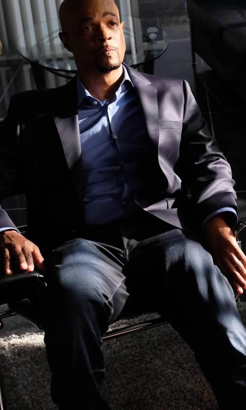 Damon Wayans with Hugo Boss Arleto Textured Weave Virgin Wool Blazer in Lethal Weapon