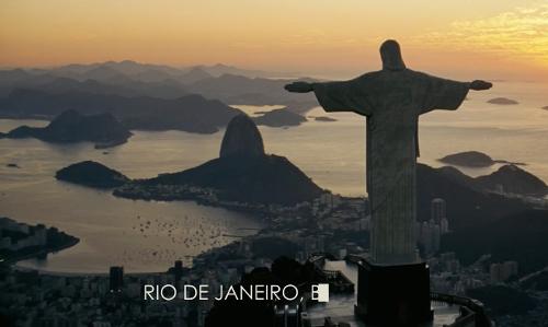 Unknown Actor with Morro Cara de Cão Rio de Janeiro, Brazil in Fast Five